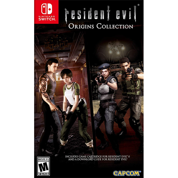Resident Evil Origins Collection cho máy Nintendo Switch