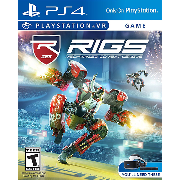 RIGS Mechanized Combat League cho máy PlayStation VR