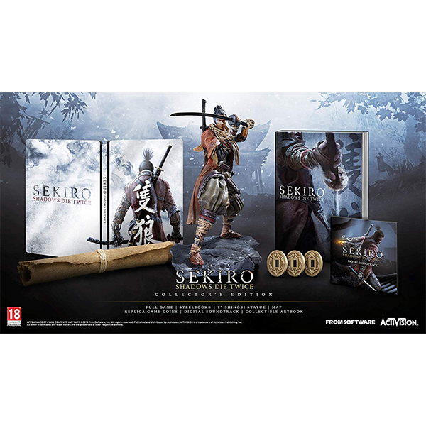 Sekiro Shadows Die Twice Collector's Edition cho máy PS4