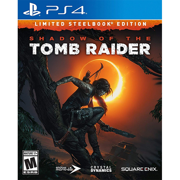 Shadow Of The Tomb Raider Steelbook Edition cho máy PS4