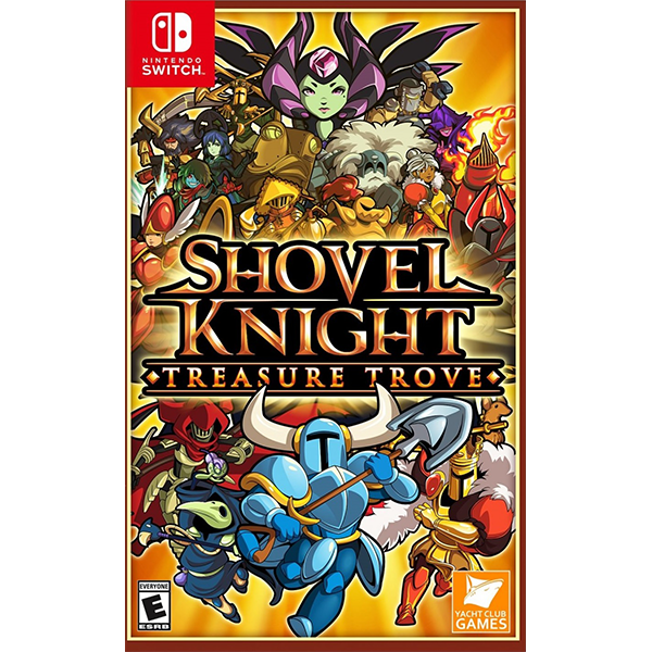 Shovel Knight Treasure Trove cho máy Nintendo Switch