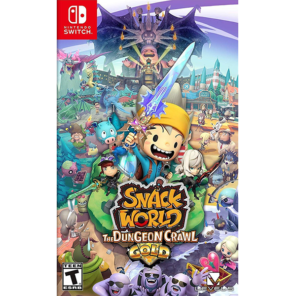 Snack World The Dungeon Crawl - Gold cho máy Nintendo Switch