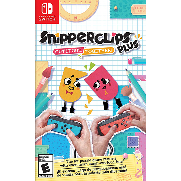 Snipperclips Plus Cut it out, Together! cho máy Nintendo Switch