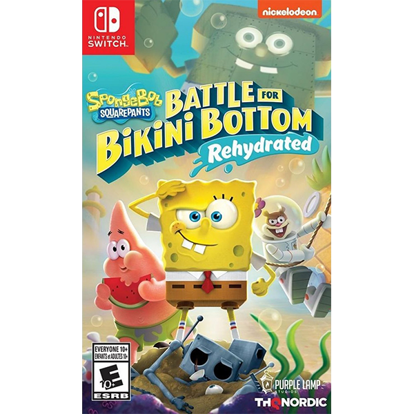 Spongebob Squarepants Battle For Bikini Bottom - Rehydrated cho máy Nintendo Switch