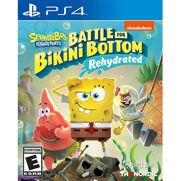 Spongebob Squarepants Battle for Bikini Bottom - Rehydrated cho máy PS4