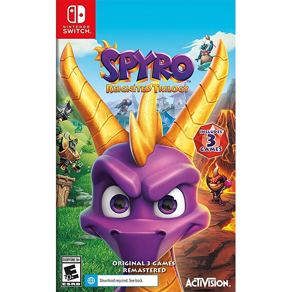 Spyro Reignited Trilogy cho máy Nintendo Switch