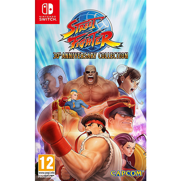 Street Fighter 30th Anniversary Collection cho máy Nintendo Switch