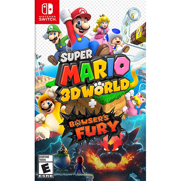 Super Mario 3D World + Bowser's Fury cho máy Nintendo Switch