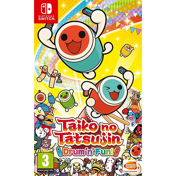 Switch Taiko no Tatsujin Drum 'n' Fun