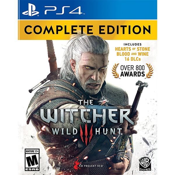 The Witcher 3 Wild Hunt Complete Edition cho máy PS4