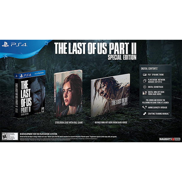 The Last Of Us Part II Special Edition cho máy PS4
