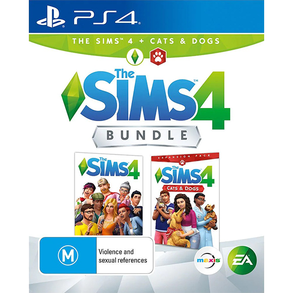 The Sims 4 + Cats & Dogs Bundle cho máy PS4