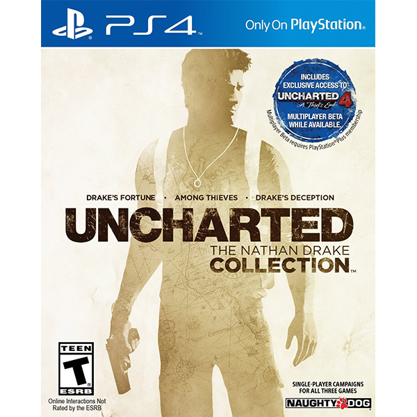 UNCHARTED The Nathan Drake Collection cho máy PS4