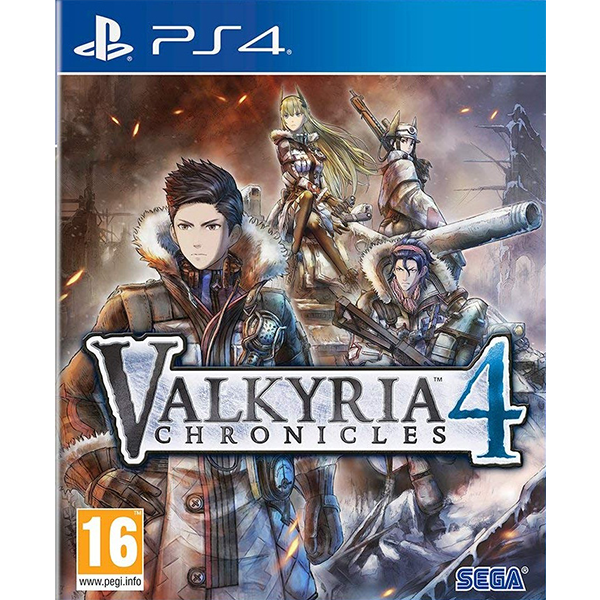 Valkyria Chronicles 4 cho máy PS4