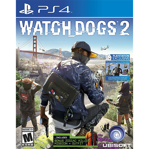 Watch Dogs 2 cho máy PS4