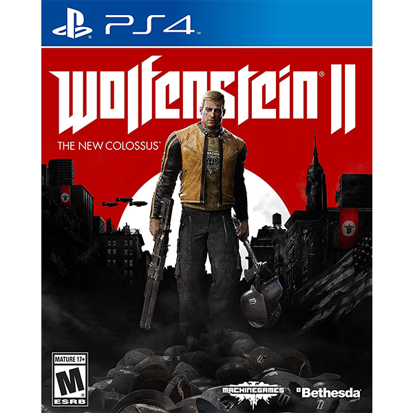 Wolfenstein II The New Colossus cho máy PS4