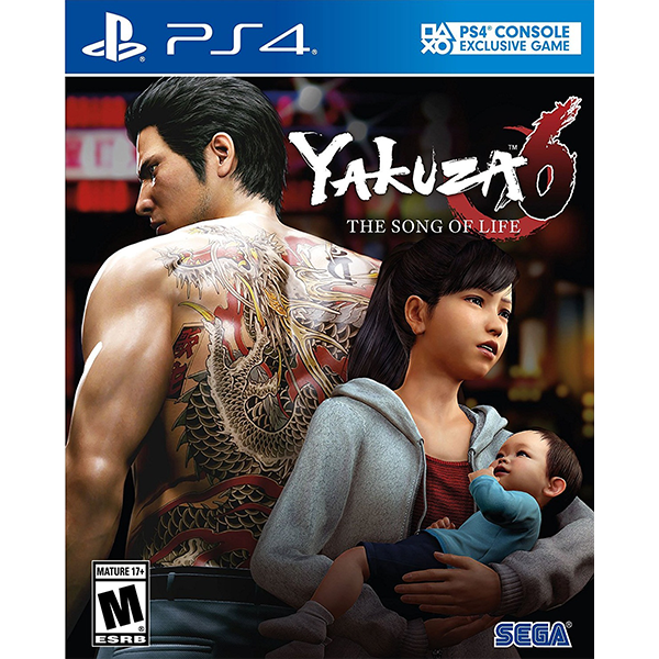 Yakuza 6 The Song Of Life cho máy PS4