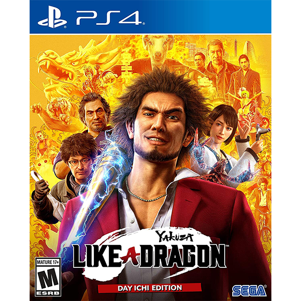 Yakuza Like A Dragon cho máy PS4