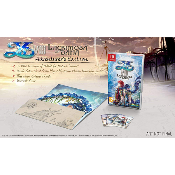 Nintendo Switch Ys VIII Lacrimosa Of Dana
