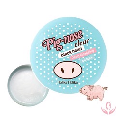 BALM TRỊ MỤN ĐẦU ĐEN HOLIKA PIG NOSE CLEAR BLACKHEAD DEEP CLEANSING OIL BALM