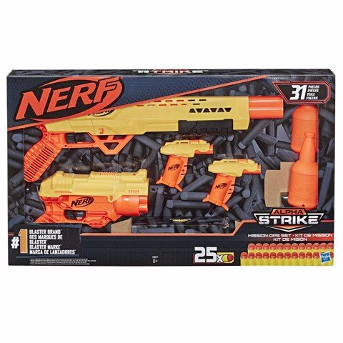 Bộ Súng Nerf Alpha Strike Mission Ops Set