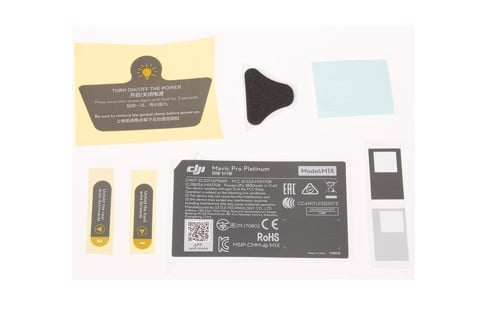 mavic pro platinum aircraft appearance sticker (gkas)