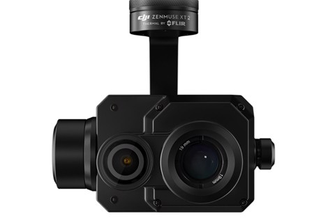 dji flir zenmuse xt2 thermal camera