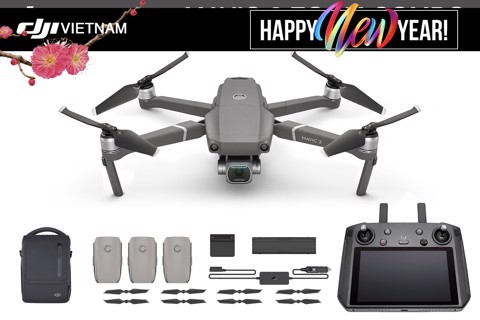 dji mavic 2 pro plus combo (new smart remote)