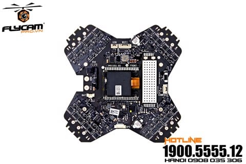 linh kiện phantom - phantom 3 standard esc center board & mc & rx 5.8g
