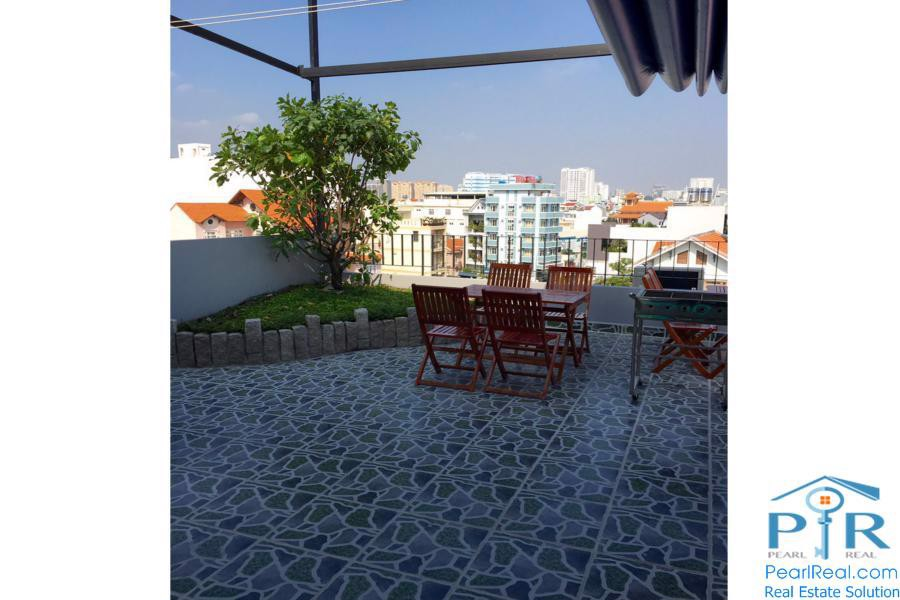Serviced apartment near Kenh Te Bridge, District 7