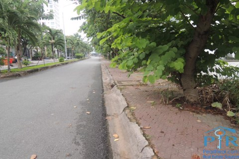 Land for rent near to An Phu super market, Thao Dien ward, Ho Chi Minh city