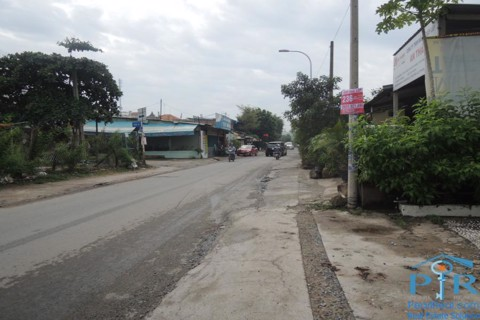 Land for rent in façade of Xuan Thuy street, Thao Dien ward, Ho Chi Minh