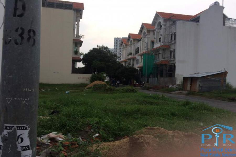 Land for sale in Kim Son resident area, district 7, HCMC