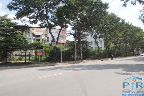 Land for rent near BIS school, Thao Dien ward, Ho Chi Minh city