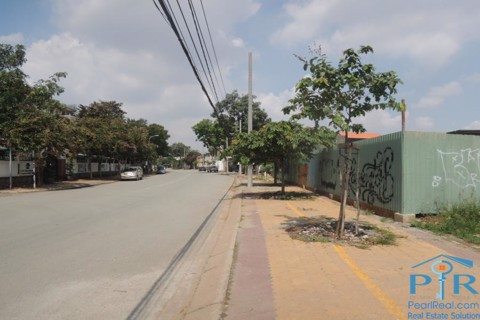 Land for rent along to Saigon river, Thao Dien ward, Ho Chi Minh city