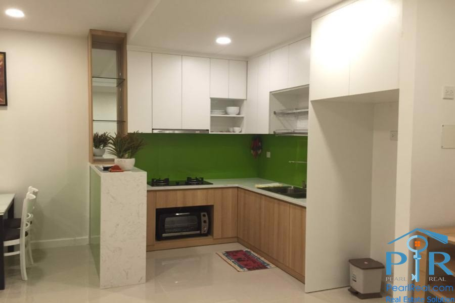 Serviced apartment in Icon 56 for rent in District 4, Ho Chi Minh City