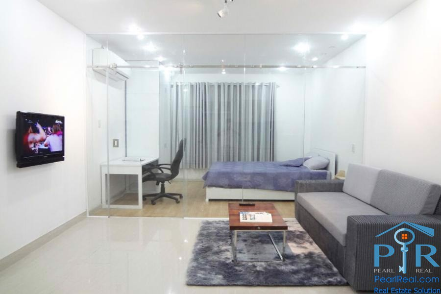 Serviced Apartment With Contemporary Design For Rent In District 1