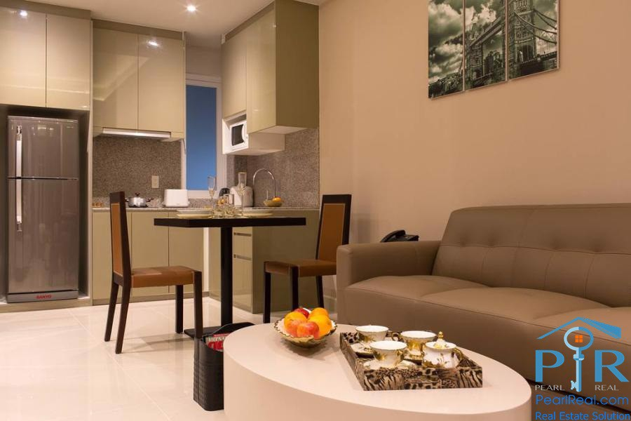 Parkside luxury serviced apartment in district 3