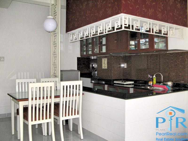 Serviced apartment near canal for lease, District 1, Ho Chi Minh
