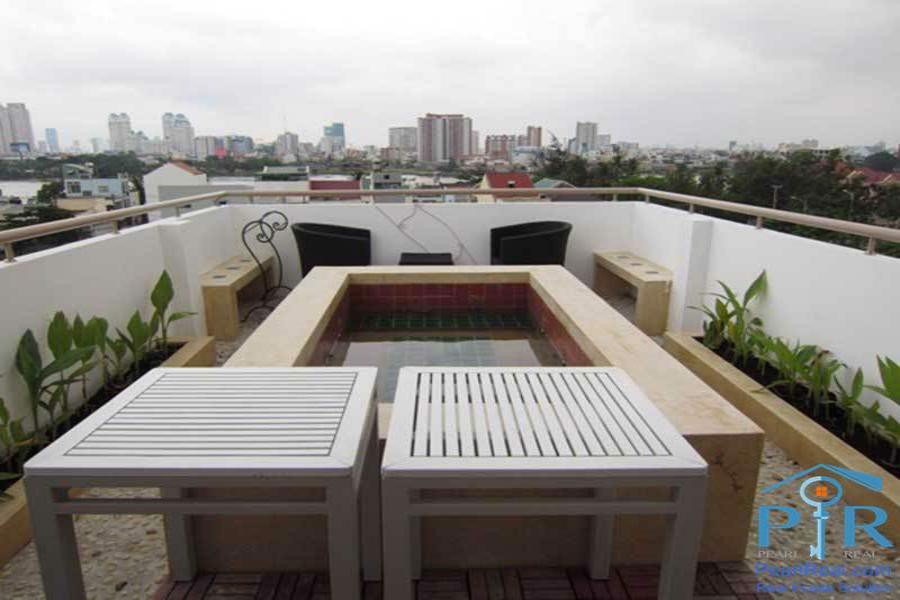 Vang Xuan serviced apartment for rent in Thao Dien ward, district 2