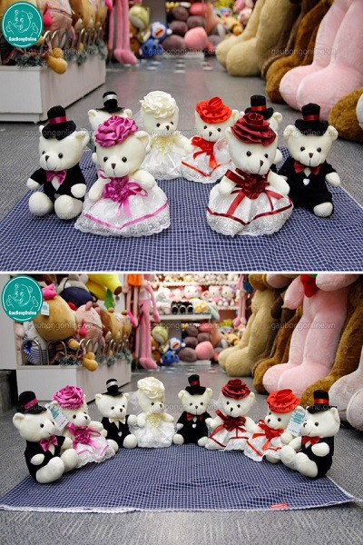 Gấu bông Teddy - Couple
