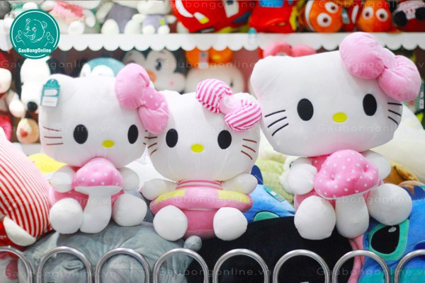 Hello Kitty Nơ Hồng