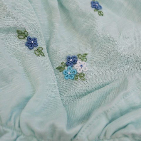 SET BLOOMER DAISY BLUE  WHITE