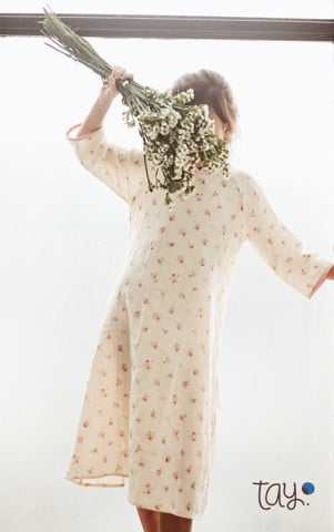 MORI WILD ROSE DRESS