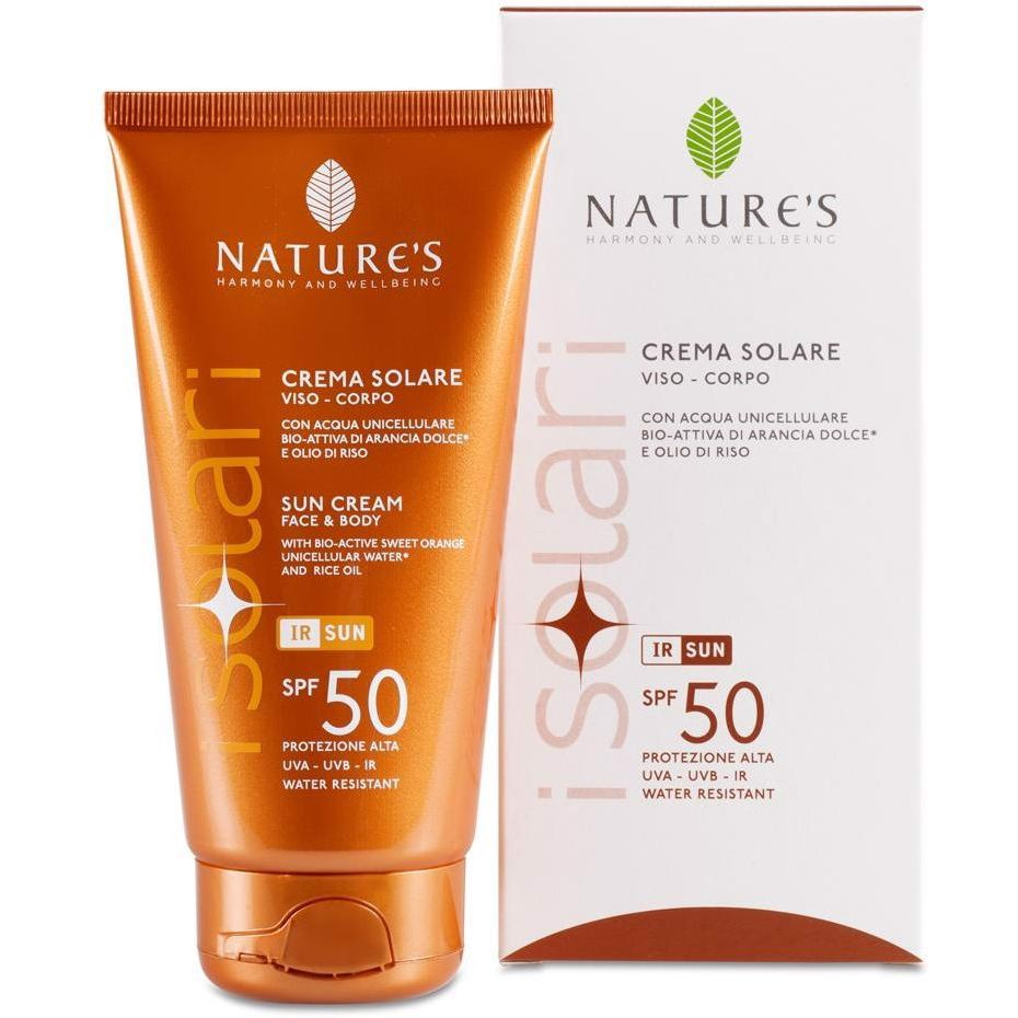 NATURE'S SOLARE CREMA SPF 50+ (face & body)