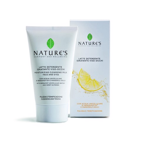 NATURES MOISTURIZING CLEANSING MILK FACE AND EYES