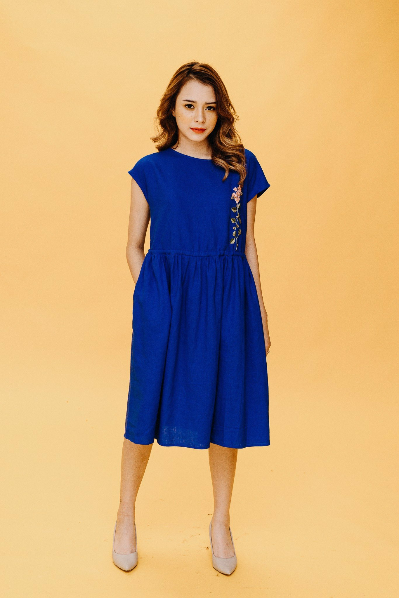 SUNSHINE BIRU MM DRESS