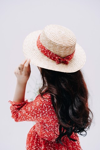 SEA PINKO FLOWER MM HAT
