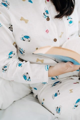 BLUE DOGS MM PAJAMAS