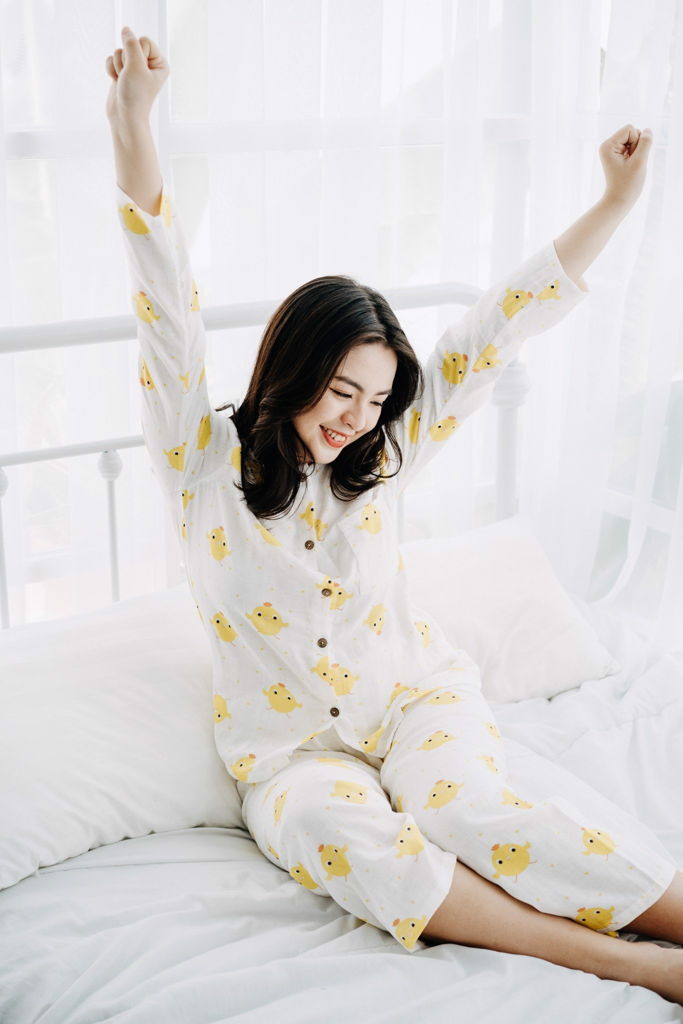 YELLOW CHIP CHIP MM PAJAMAS